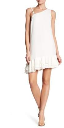 Ali & Jay Bar Nineteen Sleeveless Ruffle Hem Dress