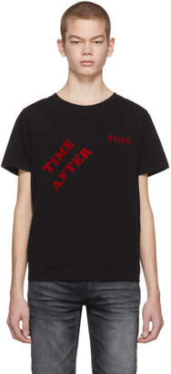 Saint Laurent Black Time After Time T-Shirt