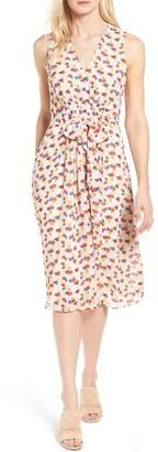 Women's Anne Klein Print Chiffon Dress $139 thestylecure.com