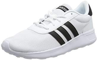 separation shoes 28d04 981b8 adidas Womens Lite Racer Running Shoes, Core BlackFootwear White, 38 2