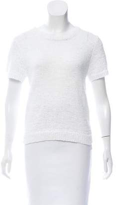 360 Sweater Knit Short Sleeve Top