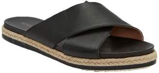 Me Too Leather Slip On Sandals - Reeta
