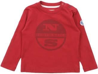 North Sails T-shirts - Item 12035040OL