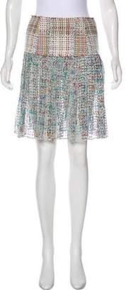 Chanel 2017 Paris-Cuba Fantasy Tweed Skirt