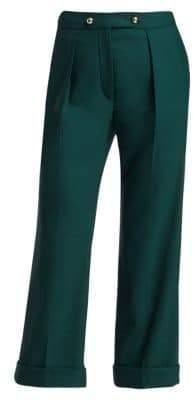 Erdem Quinby Stretch Virgin Wool Trousers