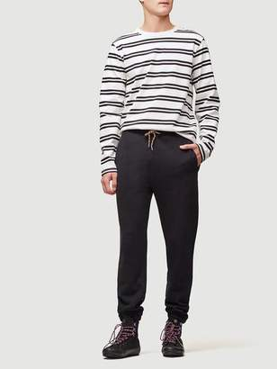 Frame Striped Long Sleeve Crew