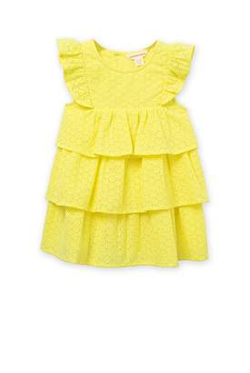 Country Road Broderie Ruffle Dress
