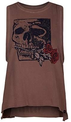 Hurley Yaiya Skull Rose Women's Tank Top, Womens, KTW2Y036033,L EU