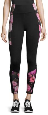 Floral Print Ankle Legging $64 thestylecure.com