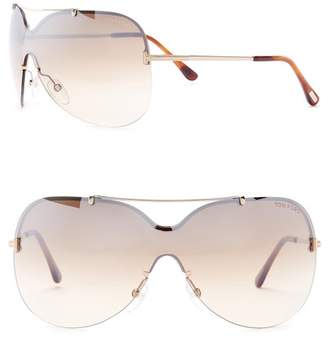 Tom Ford 00mm Shield Sunglasses