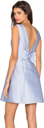 Open Back Bow Dress $448 thestylecure.com