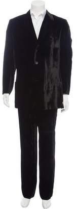 Gianni Versace Vintage Velvet Two-Piece Suit