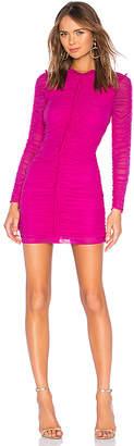 NBD Las Olas Long Sleeve Mini Dress