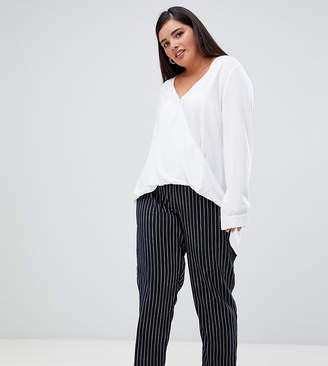 UNIQUE21 Hero Unique 21 Hero stripe elastic waist pants