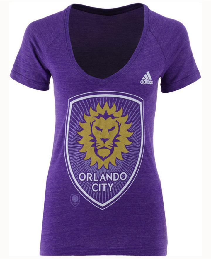 adidas Women's Orlando City SC Pearlized Pattern T-Shirt