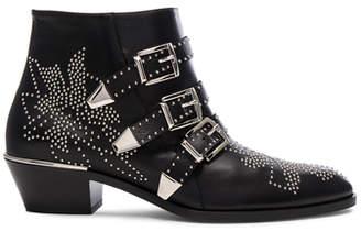 Chloé Susanna Leather Studded Booties