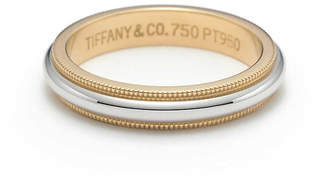 Tiffany & Co. ClassicTM milgrain wedding band ring