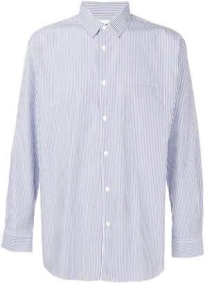 Comme des Garcons Forever vertical striped shirt