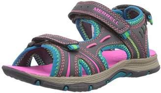 Merrell Girls' Panther Hiking Sandals,9 Child UK 28 EU