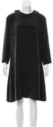 Creatures of Comfort Long Sleeve Knee-Length Dress