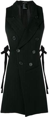Ann Demeulemeester double-breasted waistcoat