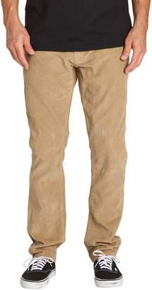 Billabong Outsider Slim Straight Leg Corduroy Pants