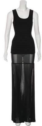 Herve Leger Bandage & Sheer Skirt Set