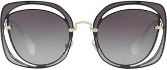 Miu Miu cutout Scenique sunglasses
