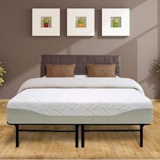 Best Price Mattress 11 Inch Gel-infused Memory Foam Mattress and 14 Inch Steel Platform Bed Frame Set - Full