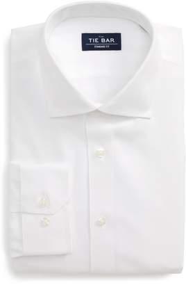 The Tie Bar Standard Fit Herringbone Dress Shirt