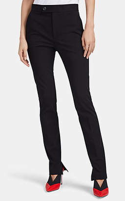 Helmut Lang Women's Stretch-Cotton Stirrup Pants - Black