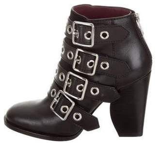 Marc by Marc Jacobs Leather Multistrap Ankle Boots