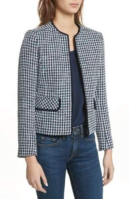 Helene Berman Check Short Tweed Jacket