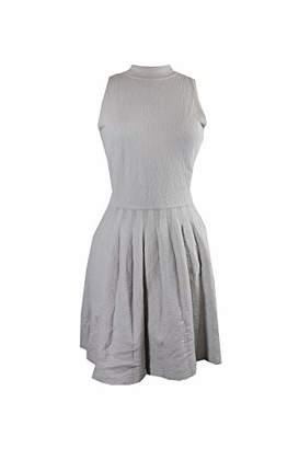 Rachel Roy Women's High Neck Fit Flare Dress