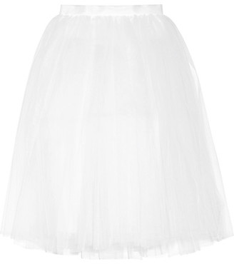 Ballet Beautiful - Tulle Skirt - White $165 thestylecure.com