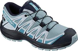 Salomon XA Pro 3D CSWP J, Trail Running Shoes, Waterproof, Cashmere Blue/Illusion Blue/Cyan Blue, Size 3.5