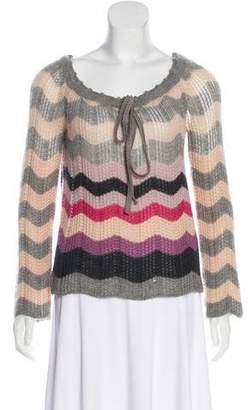 Missoni Chevron Wool Sweater