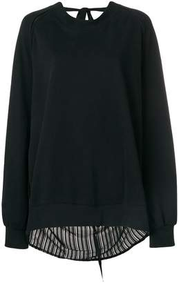 Ann Demeulemeester oversized sweatshirt