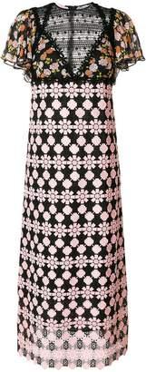 Giamba contrast pattern dress