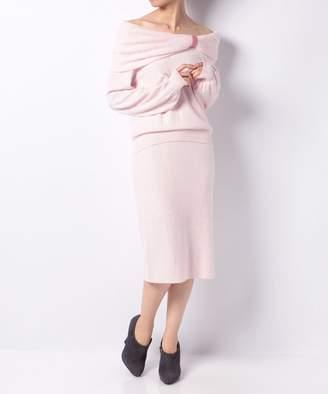 And Couture (アンド クチュール) - 【50%OFF】アンドクチュールリボンオフショル+TSKセッレディースピンクM【And Couture】【セール開催中】