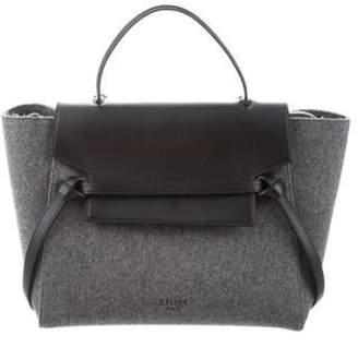 Celine Felt Belt Bag wool Felt Belt Bag