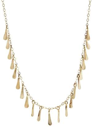 Melissa Joy Manning Seed Chain Necklace - Yellow Gold