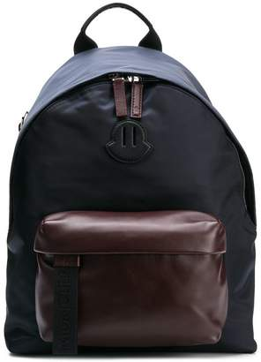 Moncler two-tone backpack