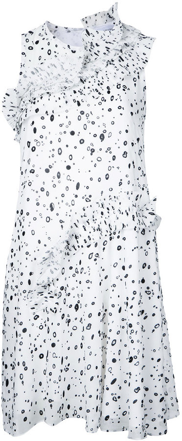 Carven Carven dots print dress