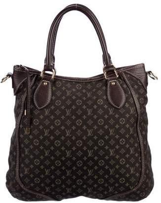 Louis Vuitton Mini Lin Besace Angele Bag Brown Mini Lin Besace Angele Bag