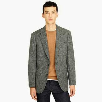 J.Crew Ludlow Classic-fit tweed patch and flap-pocket blazer