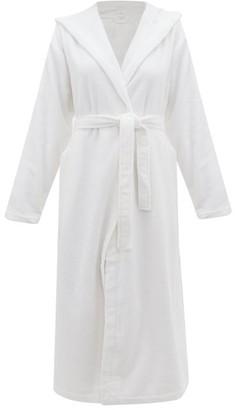 Skin - Hooded Cotton Terry Bathrobe - Womens - White