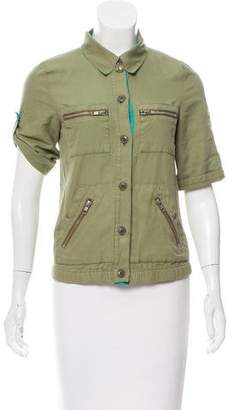 Marc Jacobs Short Sleeve Button-Up Top