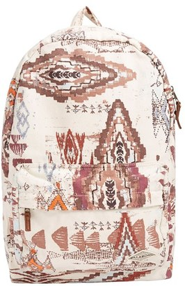 Billabong 'Hand Over Love' Backpack - White $44.95 thestylecure.com