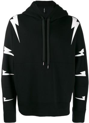 Neil Barrett hooded sweatshirt